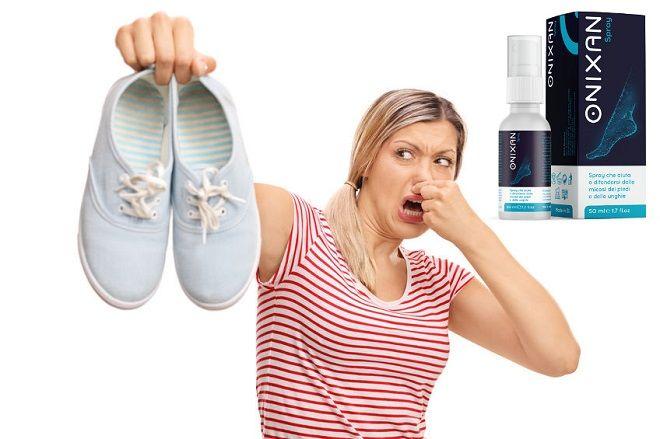 Onixan Spray: dosaggio e istruzioni per l'uso